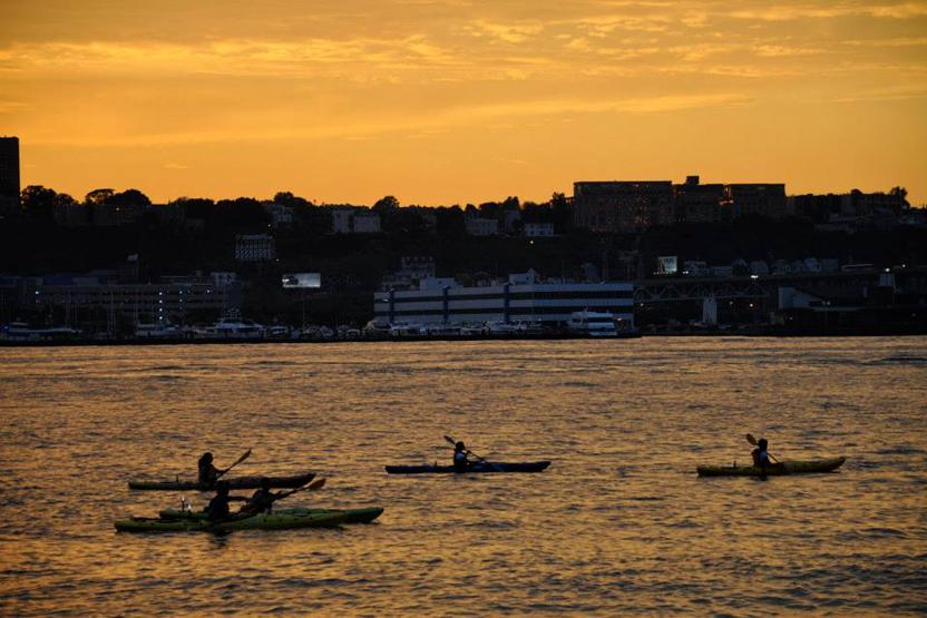 Mkc Kayak Sunset