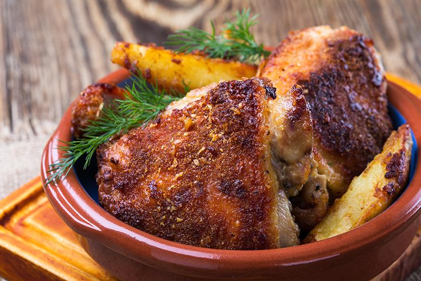 Parm Crusted Chicken