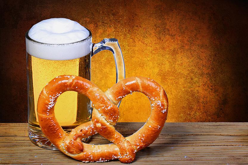 Pretzels Belgian Beer