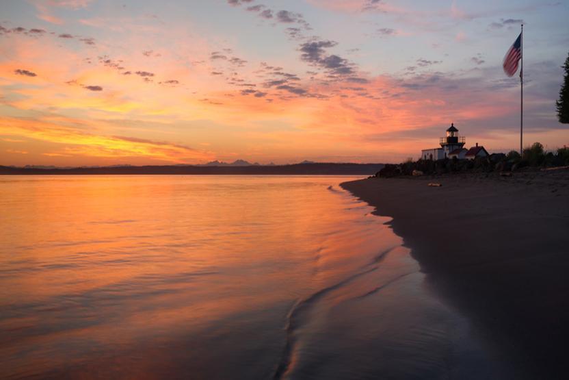 Puget Sound Lighthouses