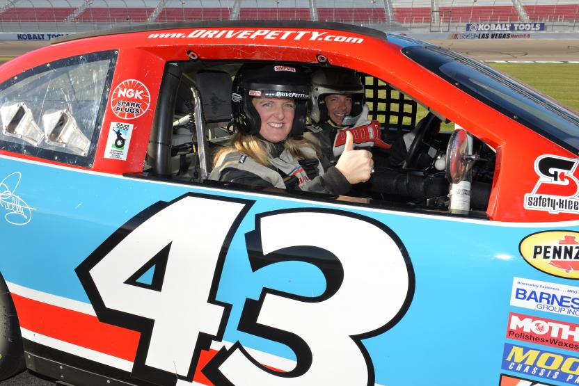 Richard Petty Driving Experience Ride Along