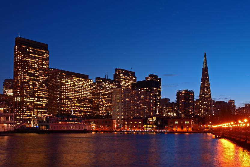 San Francisco Bay Night