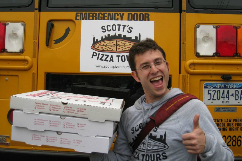 Scotts Pizza Bus