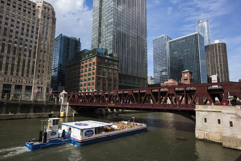river architecture tour (michigan ave) - shoreline sightseeing