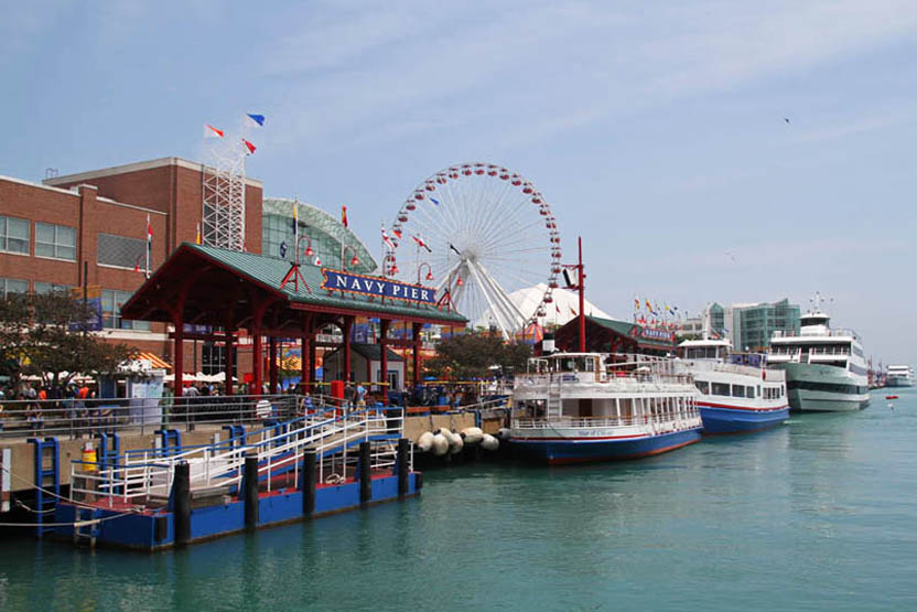 Shoreline Sightseeing Chicago River Architecture Tour Navy Pier