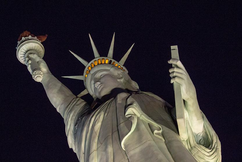 Statue Of Liberty Night