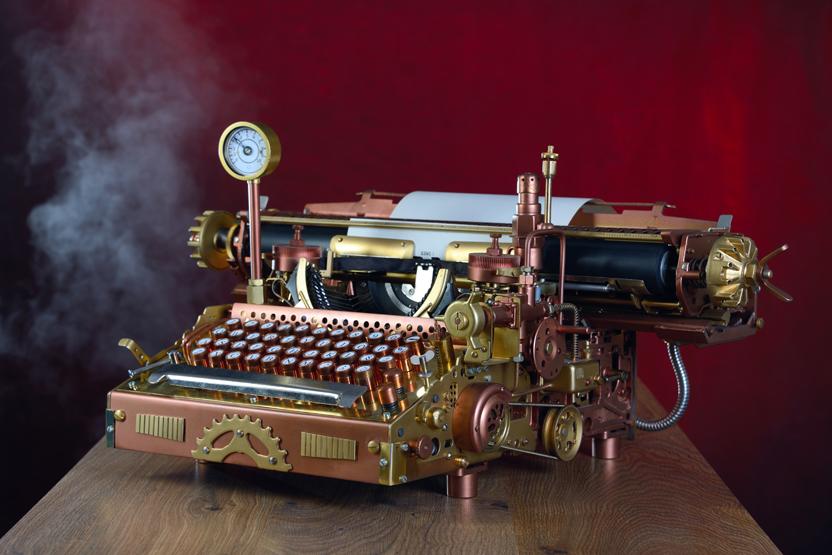 Steampunk Kitchen Appliances Steampunk House Tour - ModVic | Art, Design, Victorian ...