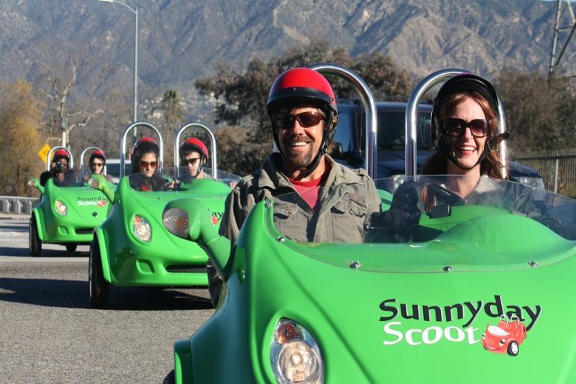 Sunnyday Scoot Walt Disney Scooter Car Tour