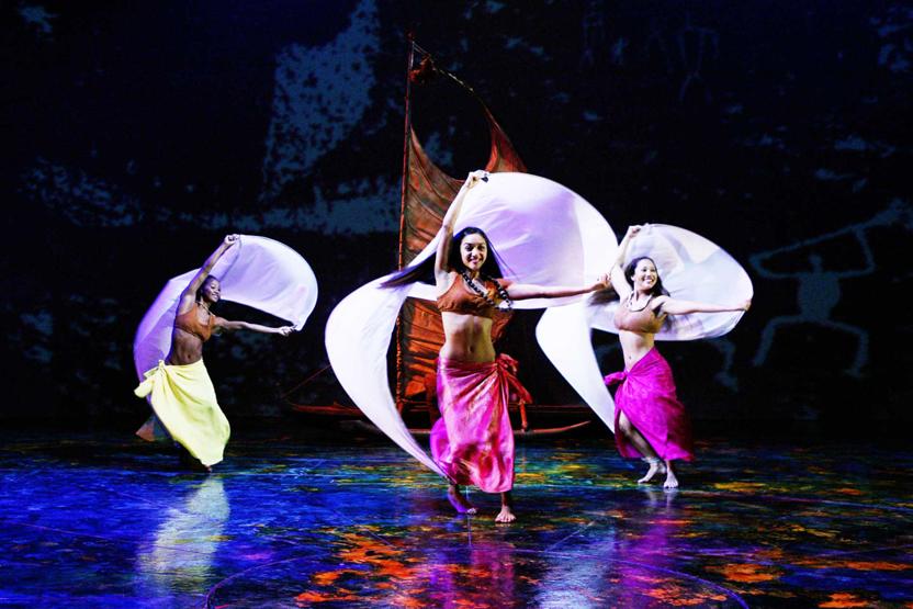 Uleana Show At Maui Theater