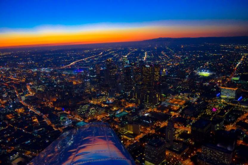 V Hollywood Downtown La 45 Min Flight 11417