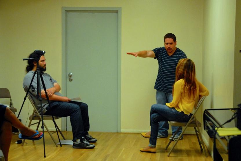 Victor Cruz Acting Class