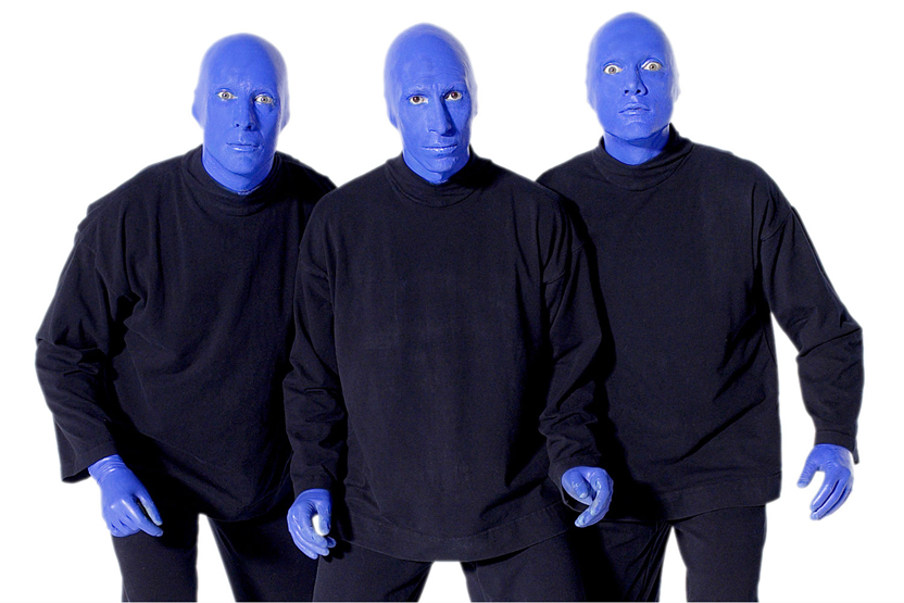 blue man group date idea