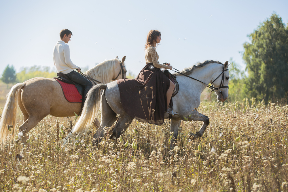 los angeles dinner date ideas horseback riding