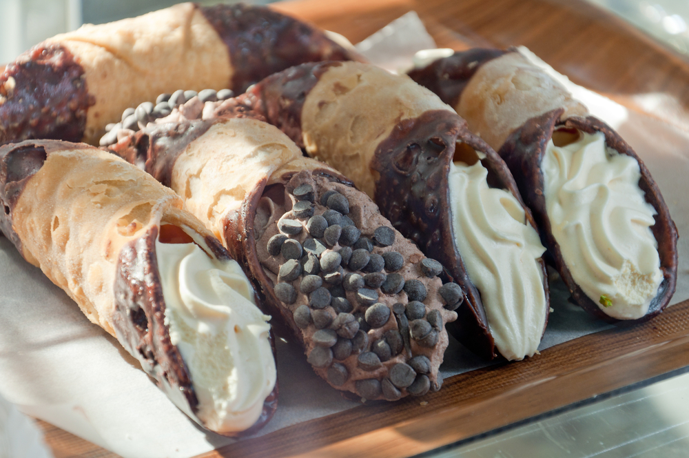 los angeles dinner date ideas cannolis