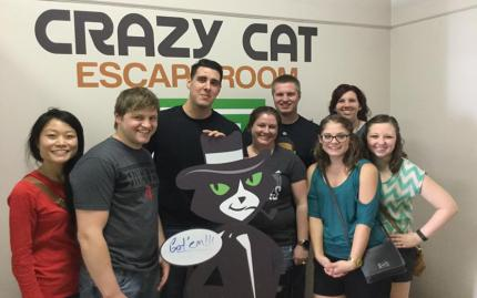 Crazy Cat Escape Room