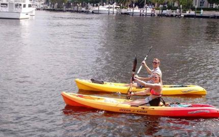 Cycle Party Kayaking