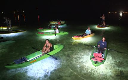 Key West Paddle Night Paddle