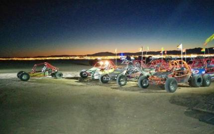 SunBuggy Fun Rentals Mini Baja After Dark