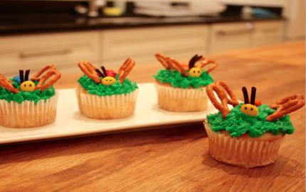 Taste Buds Kitchen Butterfly Cupcakes