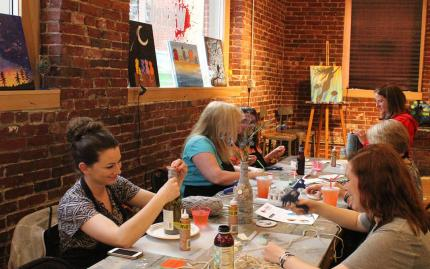 Wicked Art Bar Craft Night