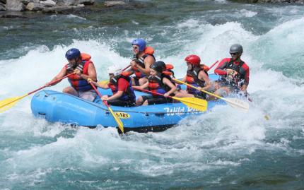 Half Day Wild Side Raft Adventure