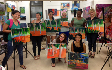BYOB One Night Painting and Wine Party