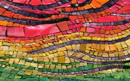 Chicago Mosaic School Smalti