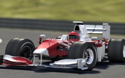 Race Car Simulator Formula 1 Grand Prix 2 People