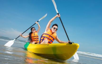 Kayaking Santa Barbara Fit Tours