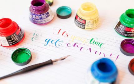 Calligraphy Workshop: Intro to Pointed Pen