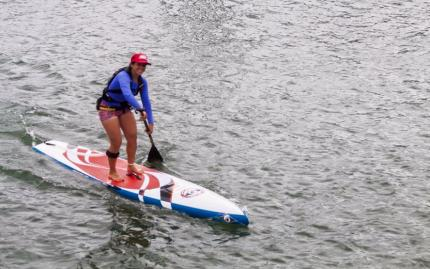 Stand-Up Paddleboarding Fun