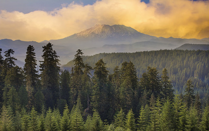 Hotel Destroyed Mount St Helens