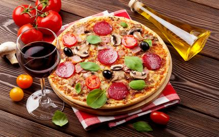 Perfect Pizza and Wine Pairing -- Disabled pending vendor review (CS 12/9/15)