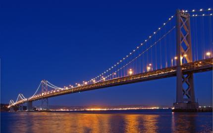 San Francisco Bay Night