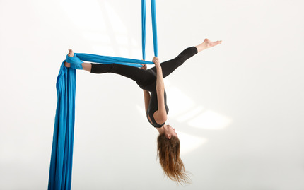 Basic Aerial Silks Technique