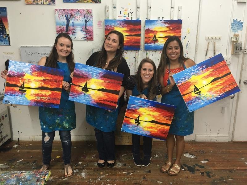 byob painting chelsea painting lounge art artwork
