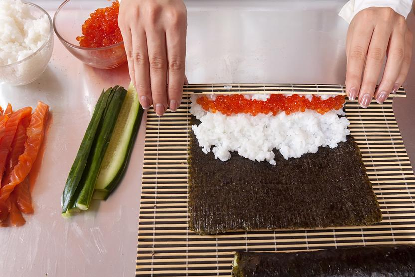 Суши мастер в домашних условиях